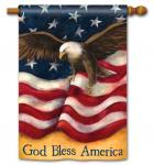 Magnet Works American Pride Standard Flag Double Sided Message