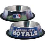 Kansas City Royals Stainless Dog Bowl