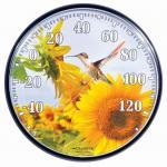 AcuRite Sunflower Hummingbird Thermometer