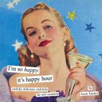 Chronicle Books I'm So Happy It's Happy Hour, Drink Collection Book