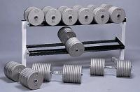 "Cap Barbell 50"" Wide 2-Tier Dumbbell Rack"