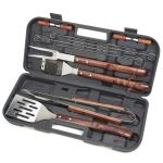 Cuisinart 13 Piece Wooden Handle Grilling Set