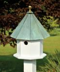 Heartwood Oct-Avian Birdhouse, Verdi Roof