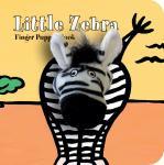 Chronicle Books Little Zebra Finger Puppet Boo