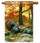 Magnet Works Turkeys Standard Flag
