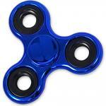 Shiny Blue Metallic Color Fidget Spinner, EDC Bearing