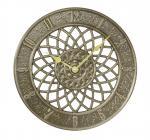 Whitehall Spiral Clock - French Bronze