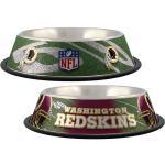 Washington Redskins Stainless Dog Bowl