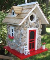 Home Bazaar Fieldstone Guest Cottage - Stone