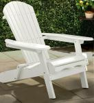 Merry Products Painted Simple Adirondack Chair