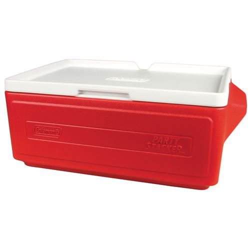 Coleman Cooler, Party Stacker, Red, 1 cooler