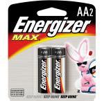 Energizer AA Batteries, 2 Pack