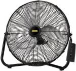 "Lasko Stanley Remote Control 20"" High Velocity Floor Fan w/Quickmount"