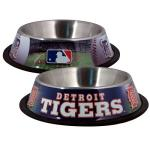 Detroit Tigers Stainless Dog Bowl