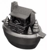 John Wright Company Log Cabin Steamer