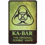 Ka-bar Knives Zombie Knife Sign