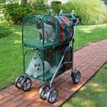 "Double Decker Pet Stroller 30"" x 16"" x 16.5"""