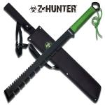 Z-Hunter Combat Machete W/ Offset Edge - Full Tang - Apocalypse Edition