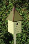 Heartwood Gatehouse Birdhouse, Celery