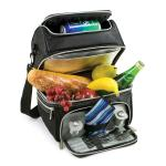 Picnic Time Black Pranzo Individual Picnic Pack w/Service for 1
