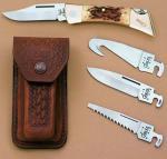 Case Cutlery XX-Changer Amber Gut Hook Gift Set