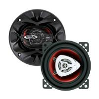 Boss Car Speaker 4Inch 2Way Chaos Extreme Red Polycone