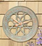 Whitehall Medallion Clock  - French Bronze