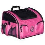 "Pet Gear 3-in-1 Bike Basket Carrier / Car Seat Pink 15.5"" x 11.5"" x 11.5"""
