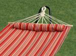 Bliss Hammocks Oversized Hammock w/ Spreader Bars & Pillow, Toasted Almond