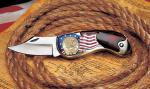Gold-Layered, Dual-Dated Bicentennial Quarter Pocket Knife