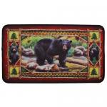 "Rivers Edge Products 18""x30"" Door Mat-bear"