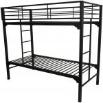 Blantex University Bunk Bed with Built in Ladder and 2 Guardrails (Non-Standard Sizes)