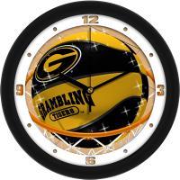 """Grambling Tigers Slam Dunk 12"""" Wall Clock"""