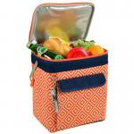 Picnic at Ascot Multi Purpose Beverage Cooler - Orange/Navy