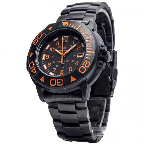 Smith wesson tritium dive watch 40mm orange face - 40mm dive watch ...