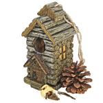 Design Toscano Backwoods Cabin Birdhouse