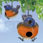 Coyne's Company Plump Blue Birdhouse