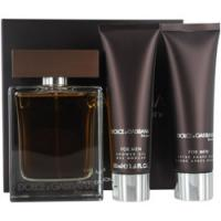 The One By Dolce & Gabbana Eau De Toilette Spray 3.4 Oz & Aftershave Balm 1.7 Oz & Shower Gel 1.7 Oz (travel Edition) for Men