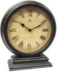 Infinity Distressed Round Table Clock