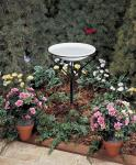 Allied Precision Bird Bath with Metal Stand