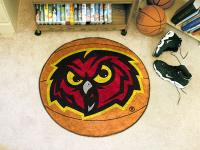"Temple Owls Basketball Rug 29"" diameter"