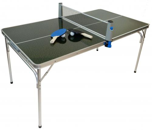 portable mini ping pong table with accessories. Black Bedroom Furniture Sets. Home Design Ideas