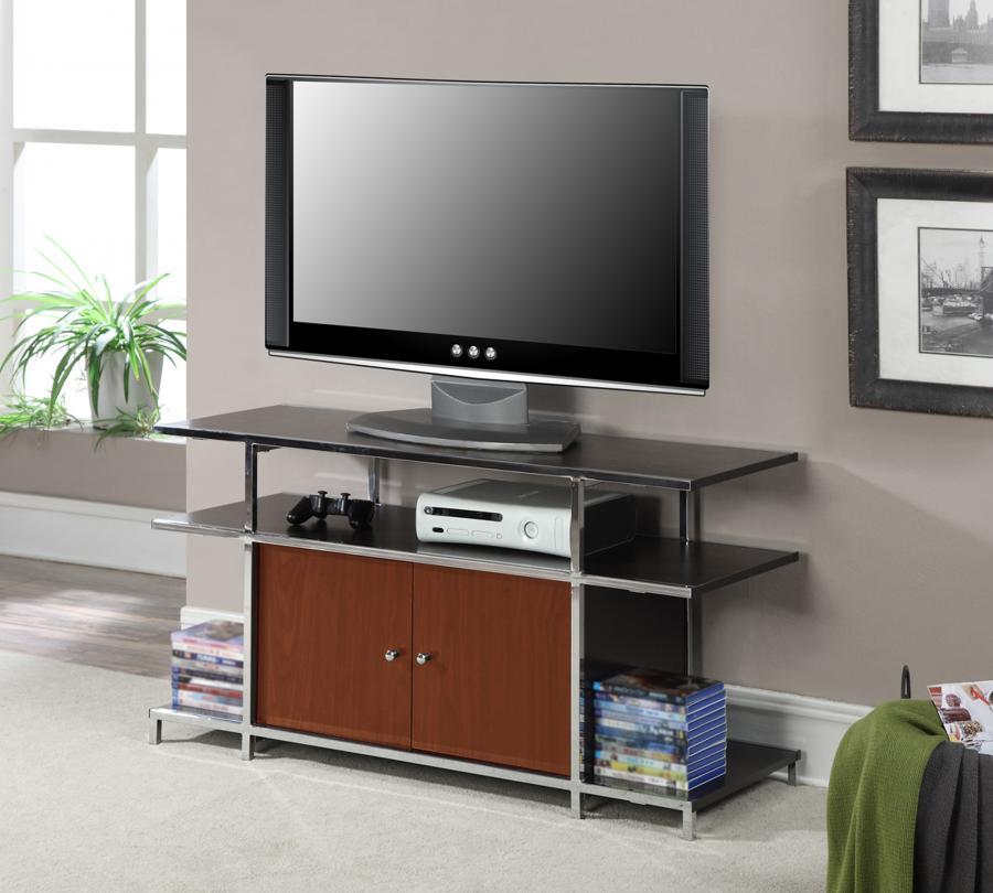 Designs2Go Townsend TV Stand (Cherry / Espresso)