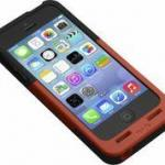 Prong Black/Red Pocketplug Case & Charger For Iphone 5/5S