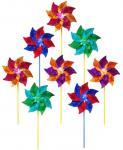 In The Breeze 8 inch Mylar Pinwheel (8 pc assortment)