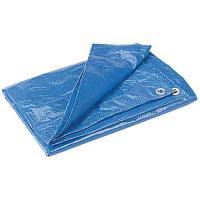 Kotap Blue Poly Tarp, 5' x 7'