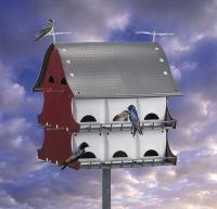 S & K 16 Family Purple Martin Barn House