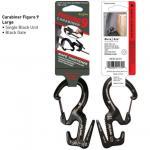 Nite-ize Large Carabiner Single Pack / Black Gates