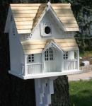 Home Bazaar Gingerbread Cottage Birdhouse