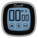 Escali Touch Screen Digital Timer, Black